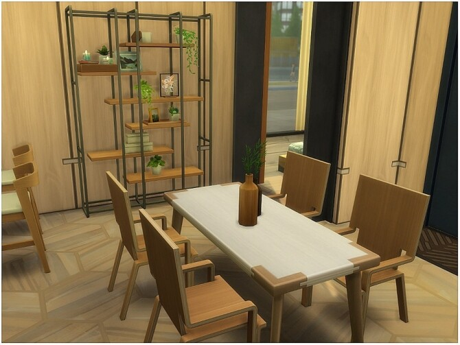 Sims 4 Modern Tiny ECO home by lotsbymanal at TSR