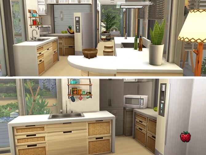Sims 4 Calum house no cc by melapples at TSR