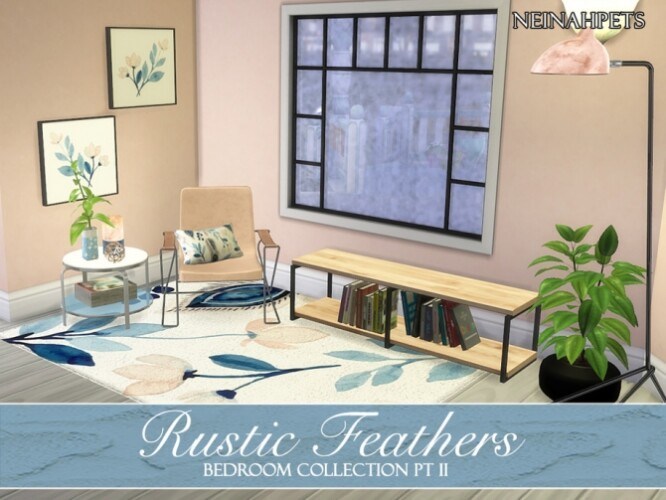 Rustic Feathers Bedroom Pt II by neinahpets
