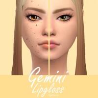Gemini Lipgloss by Sagittariah