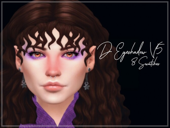 Sims 4 D Eyeshadow V5 by Reevaly at TSR