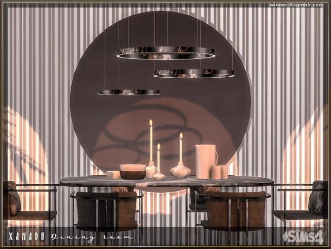 Xanadu Dining room by Winner9 at TSR image 3315 670x503 Sims 4 Updates