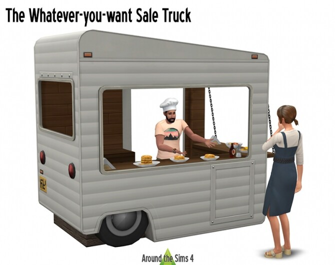 Sims 4 Sale Truck at Around the Sims 4