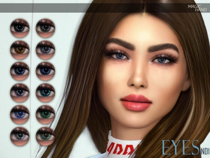 Sims 4 Eyes N01 by MagicHand at TSR