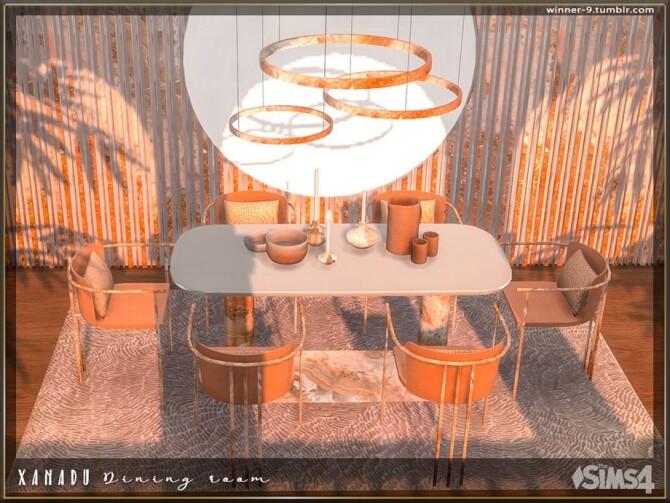 Xanadu Dining room by Winner9 at TSR image 3415 670x503 Sims 4 Updates