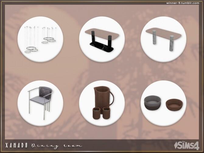Xanadu Dining room by Winner9 at TSR image 3516 670x503 Sims 4 Updates