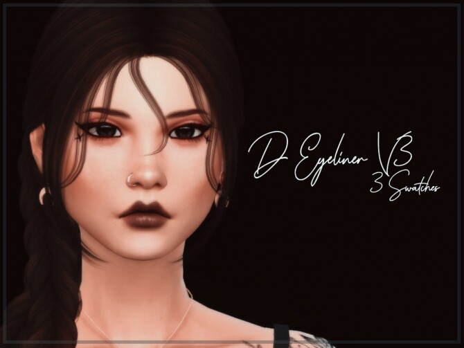 D Eyeliner V3 by Reevaly at TSR image 361 670x503 Sims 4 Updates