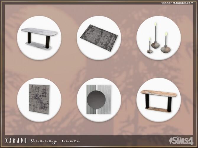 Xanadu Dining room by Winner9 at TSR image 3616 670x503 Sims 4 Updates