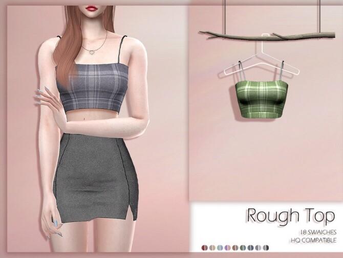 LMCS Rough Top by Lisaminicatsims at TSR image 371 670x503 Sims 4 Updates
