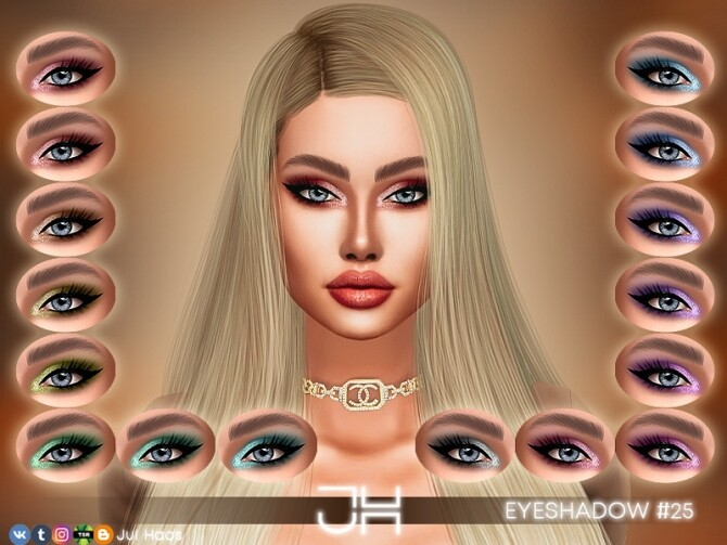 EYESHADOW #25 by Jul Haos at TSR image 3722 670x503 Sims 4 Updates