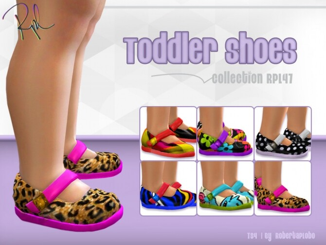 Toddler Shoes Collection RPL47 by RobertaPLobo at TSR image 3916 670x503 Sims 4 Updates