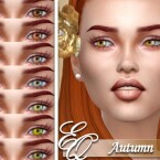 Autumn Eyes by EvilQuinzel