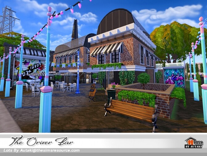 The Oriver Bar NoCC by autaki at TSR image 3919 670x503 Sims 4 Updates