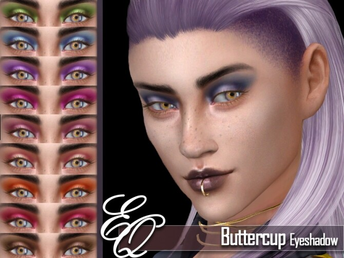 Buttercup Eyeshadow by EvilQuinzel at TSR image 3923 670x503 Sims 4 Updates
