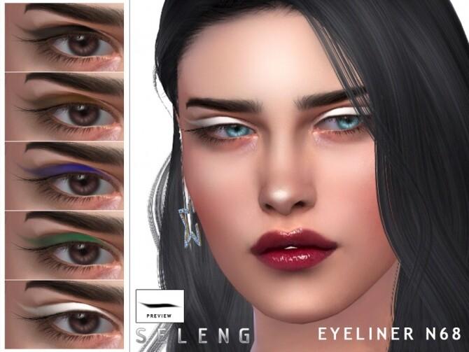 Sims 4 Eyeliner N68 by Seleng at TSR