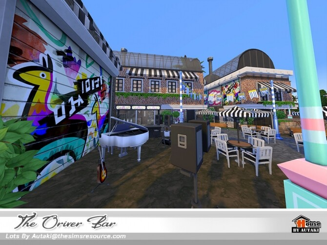 The Oriver Bar NoCC by autaki at TSR image 4019 670x503 Sims 4 Updates