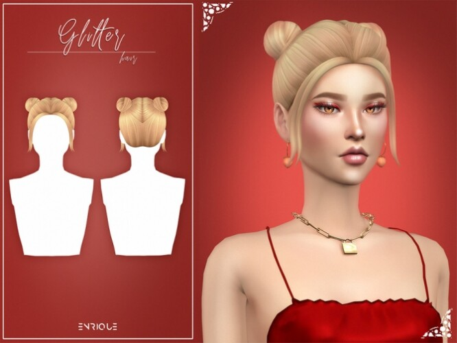 Glitter Hairstyle by Enriques4