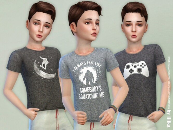 T-Shirt Collection for Boys P17 by lillka