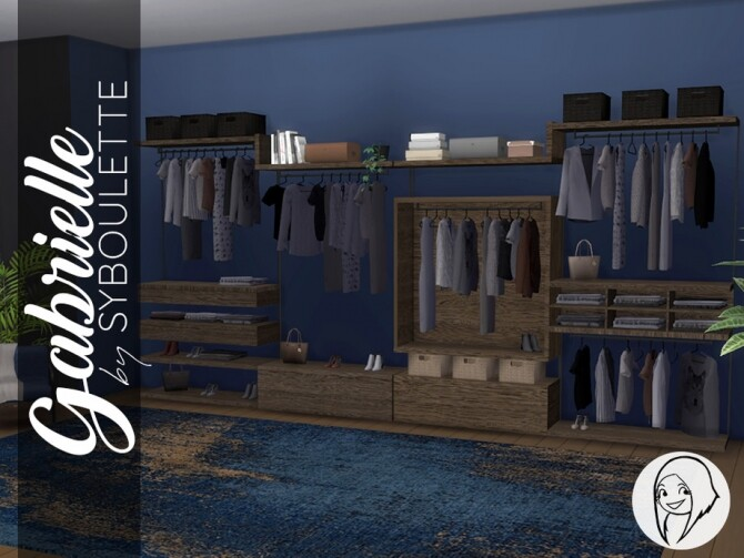 Gabrielle Dressing Closet by Syboubou at TSR image 4102 670x503 Sims 4 Updates