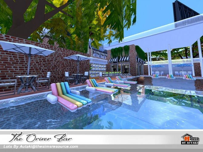 The Oriver Bar NoCC by autaki at TSR image 4123 670x503 Sims 4 Updates
