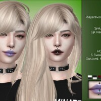 Spiked Lip Piercing by PlayersWonderland