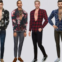 Felipe Casual Shirt by McLayneSims