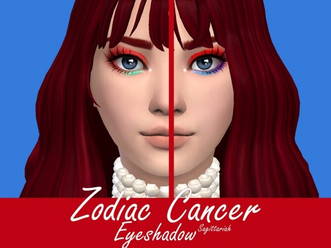 Zodiac Cancer Eyeshadow by Sagittariah at TSR image 4223 670x503 Sims 4 Updates