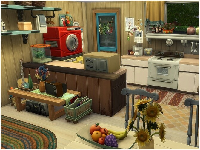 Sims 4 Country Side Cottage by lotsbymanal at TSR