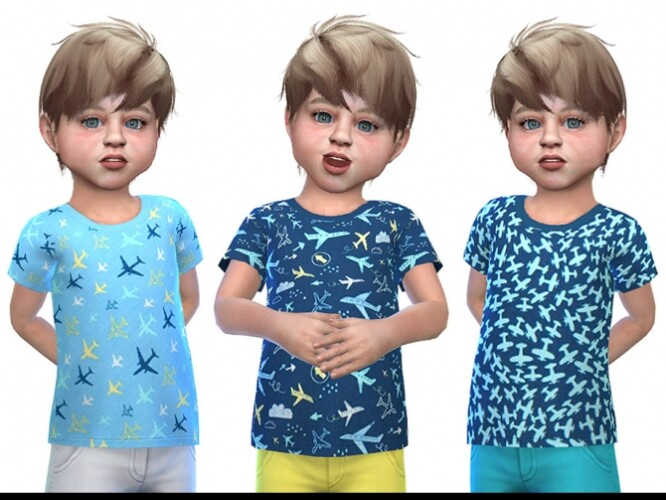 T-shirt for Toddler Boys 01 by Little Things