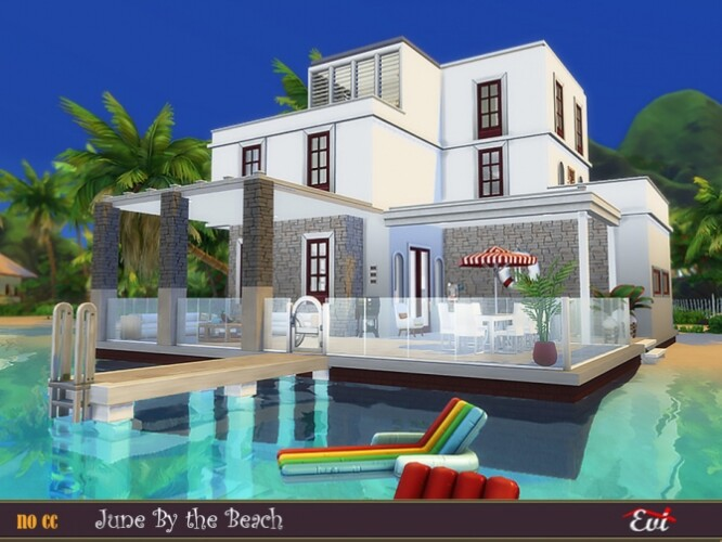 June By the Beach House by evi