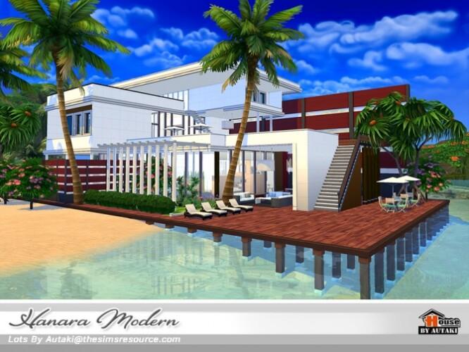 Hanara Modern House NoCC by autaki