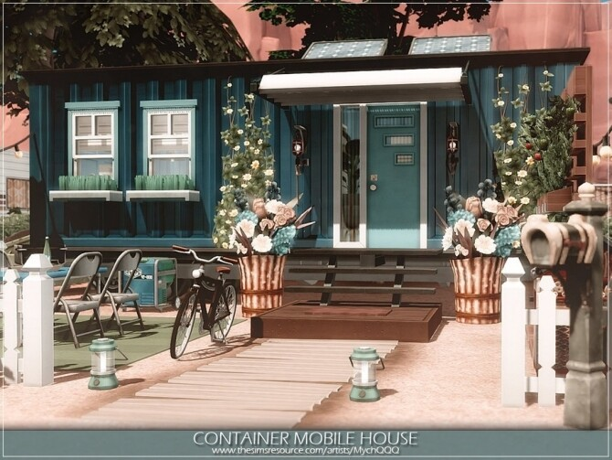 Container Mobile House by MychQQQ at TSR image 4424 670x503 Sims 4 Updates