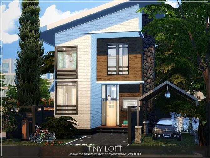 Tiny Loft by MychQQQ at TSR image 4515 670x503 Sims 4 Updates