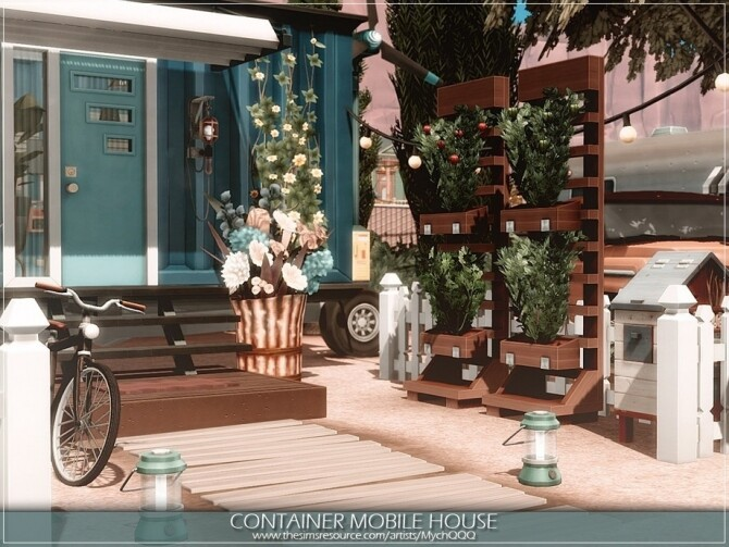 Container Mobile House by MychQQQ at TSR image 4523 670x503 Sims 4 Updates