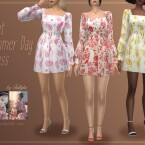 Sweet Summer Day Dress by Trillyke