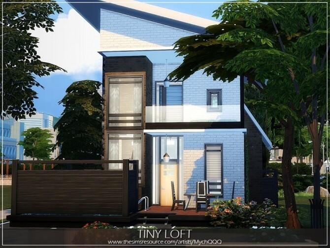 Tiny Loft by MychQQQ at TSR image 4615 670x503 Sims 4 Updates