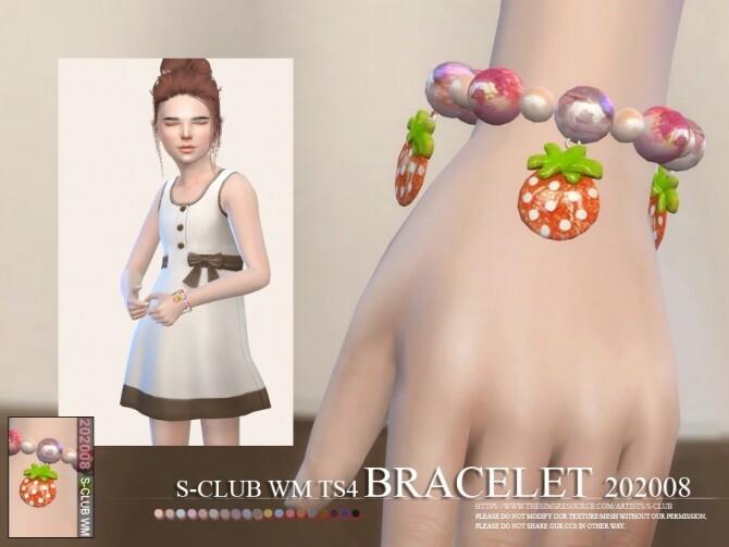 Sims 4 Bracelet 202008 by S Club WM at TSR