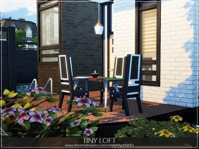 Tiny Loft by MychQQQ at TSR image 4716 670x503 Sims 4 Updates
