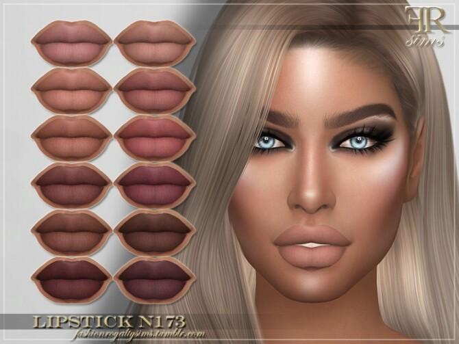 Sims 4 FRS Lipstick N173 by FashionRoyaltySims at TSR
