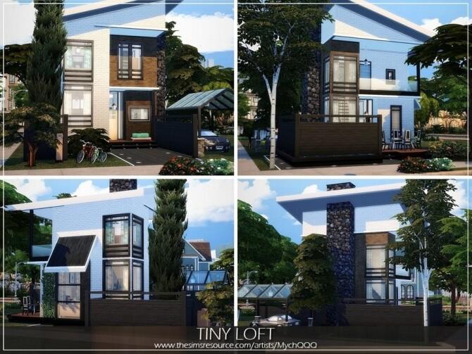 Tiny Loft by MychQQQ at TSR image 4816 670x503 Sims 4 Updates