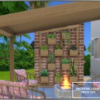 Modern Lanai Patio Set by Chicklet