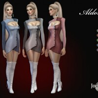 Aldoress dress by  jomsims
