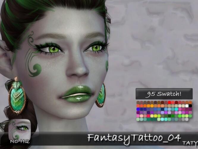 Fantasy Tattoo 04 by tatygagg