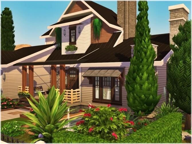 Sims 4 Zahra home by Ray Sims at TSR