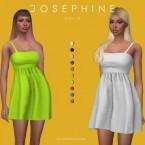 JOSEPHINE dress v2 by Plumbobs n Fries