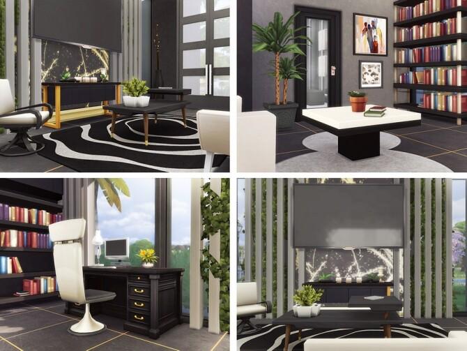 Sims 4 Ehsan house by Rirann at TSR