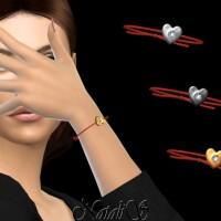 Diamond heart bracelet by NataliS