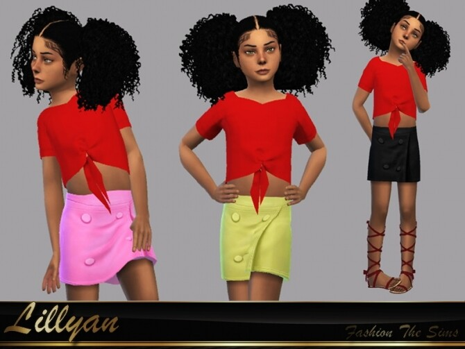 Skirt Paty by LYLLYAN at TSR image 5100 670x503 Sims 4 Updates