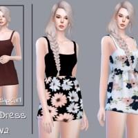 Mini Dress V2 by GossipGirl-S4