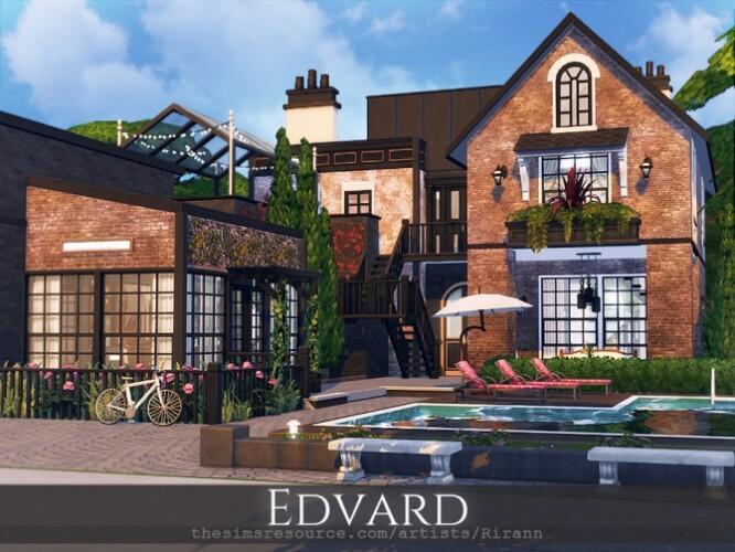 Edvard house by Rirann